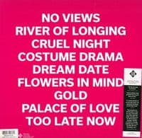 BLANK REALM Illegals In Heaven Vinyl Record LP Fire 2015 Pink Vinyl